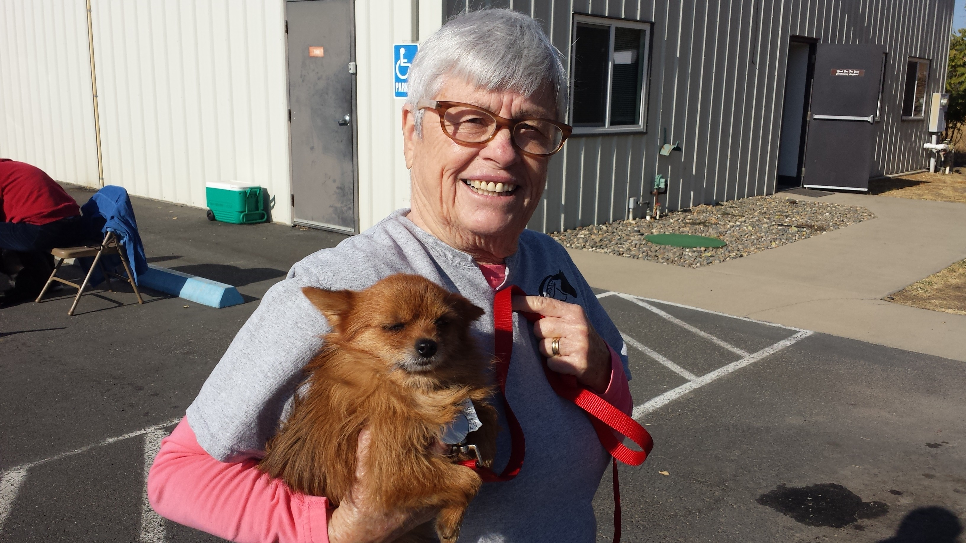 Debby Beaufort and Pup
